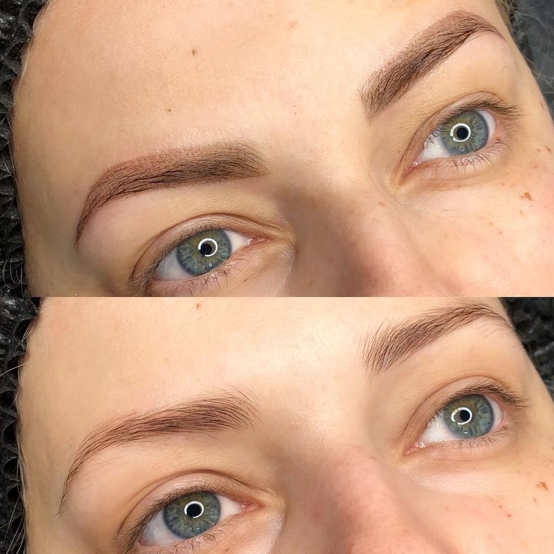 Татуаж бровей пудровый эффект. фото до и после, отзывы, цена, сколько держится, как делается, заживает