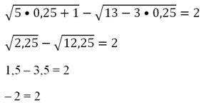 Корень уравнения – определение (6 класс, математика)