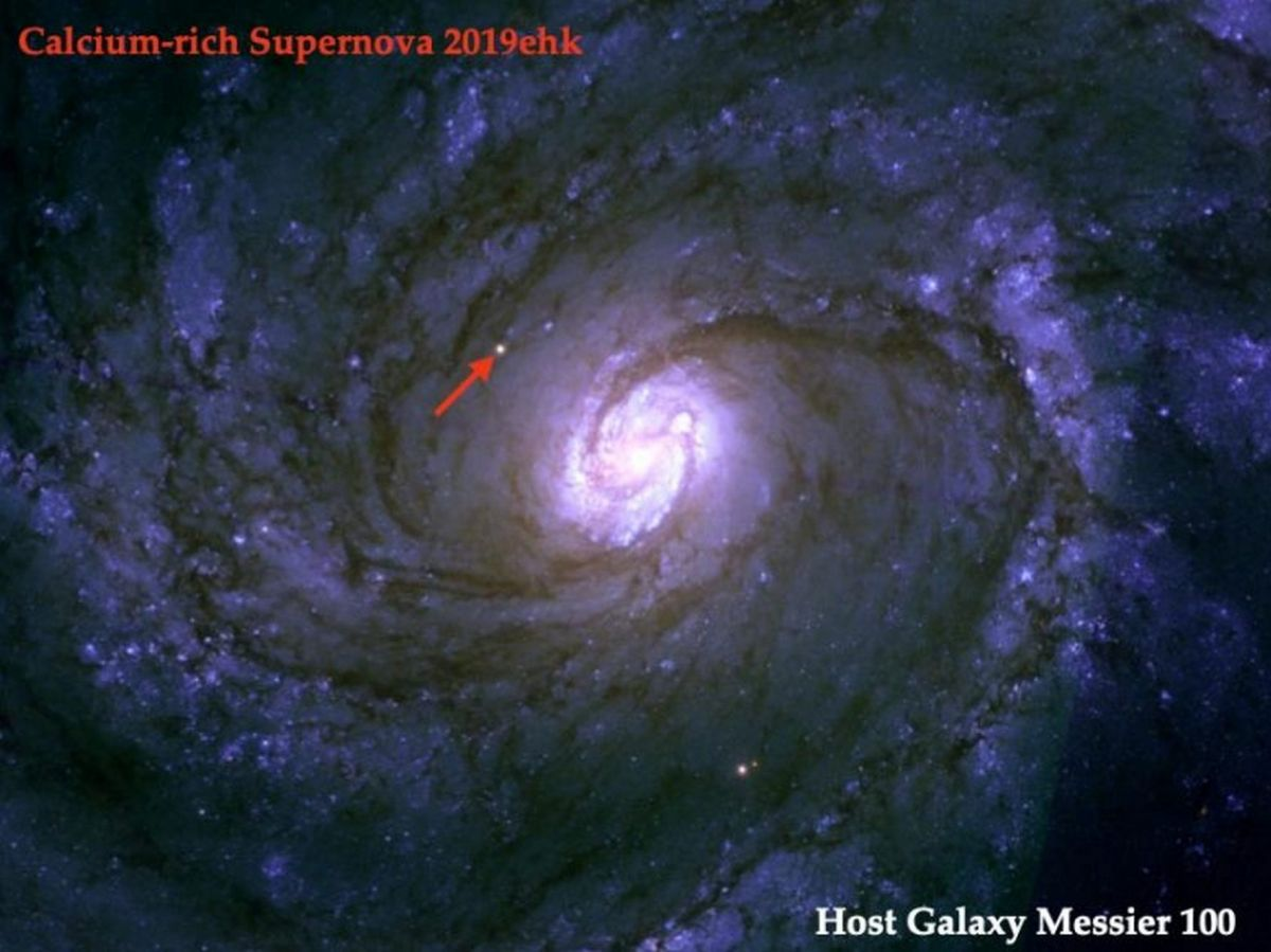 Сверхновая звезда - загадка звездного взрыва