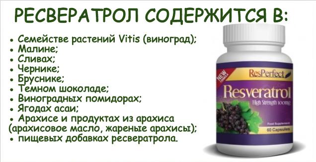 Что это такое ресвератрол | za-edoy.ru