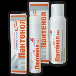 Пантенол спрей - как использовать и от чего помогает, действующее вещество, побочные эффекты и отзывы