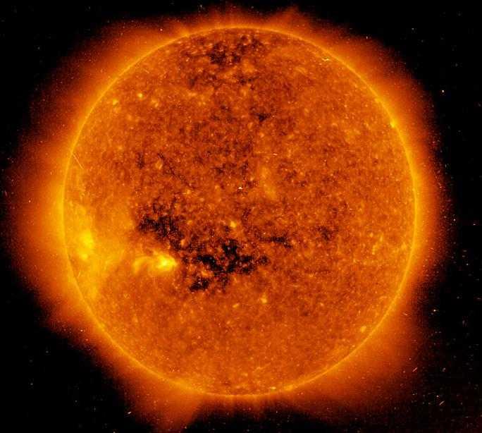 Магнитные солнечные пятна