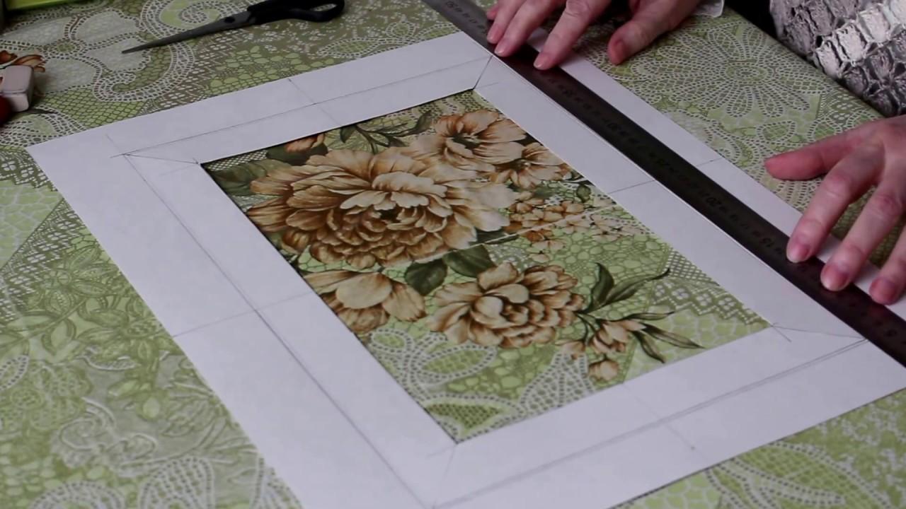 ? 3 простых способа сделать паспарту для картины своими руками | пошаговые фото, видео и идеи для творчества
