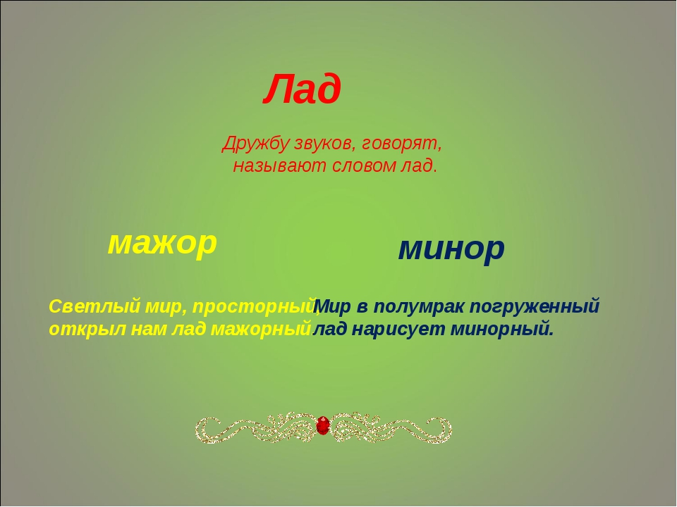 Минор: минорные гаммы и параллельные тональности (урок 8)