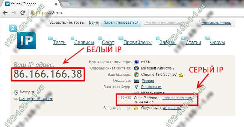 Что такое динамический ip адрес, чем отличается от статического - как узнать? - вайфайка.ру