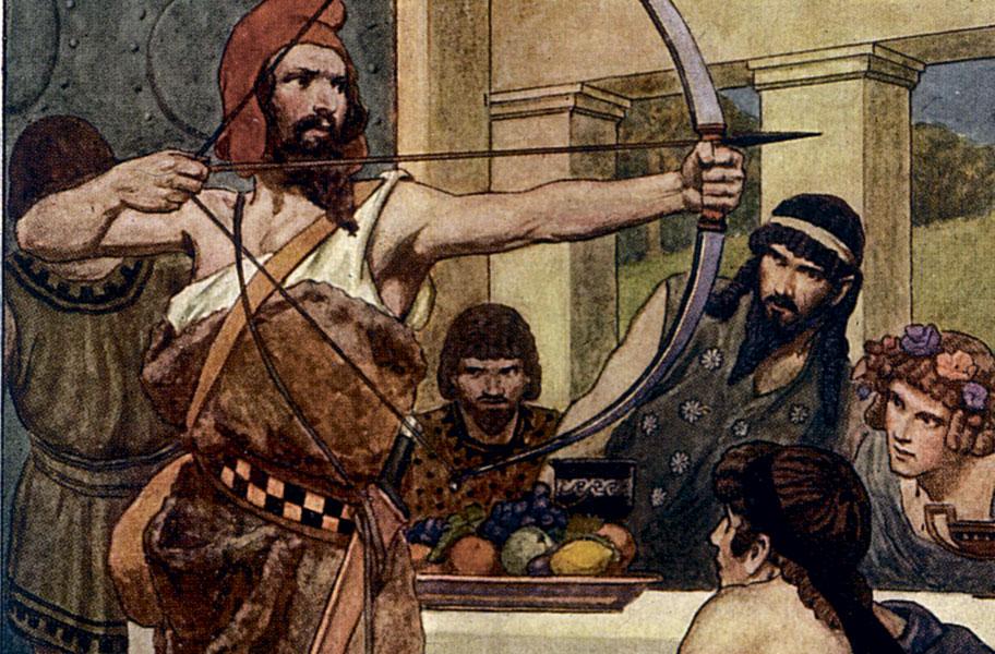 Одиссей (мифология) - царь итаки, сын лаэрта и антиклеи, супруг пенелопы и отец телемаха. персонажи древнегреческой мифологии