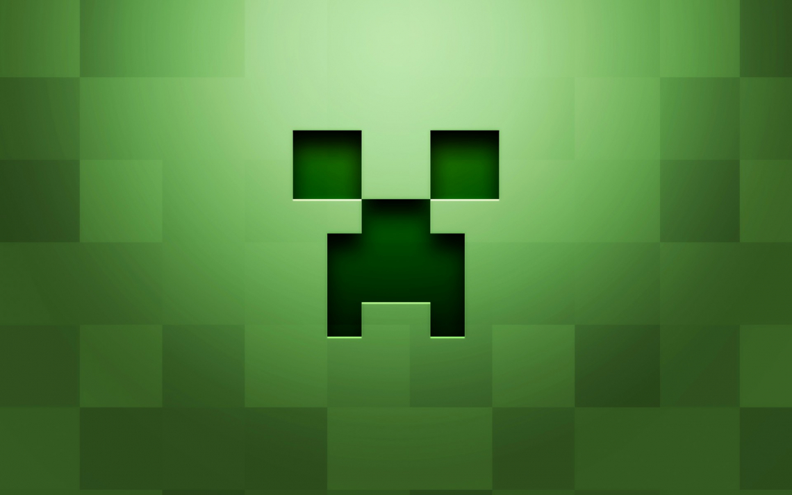 Крипер в minecraft (майнкрафт)