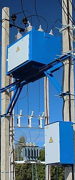 Реклоузер вакуумный серии рва/tel | статьи | таврида электрик украина