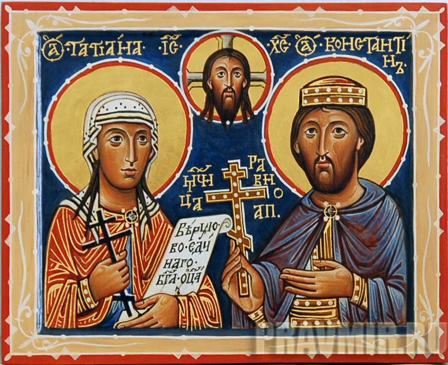 Значение икон божией матери, матроны московской и святых мучеников