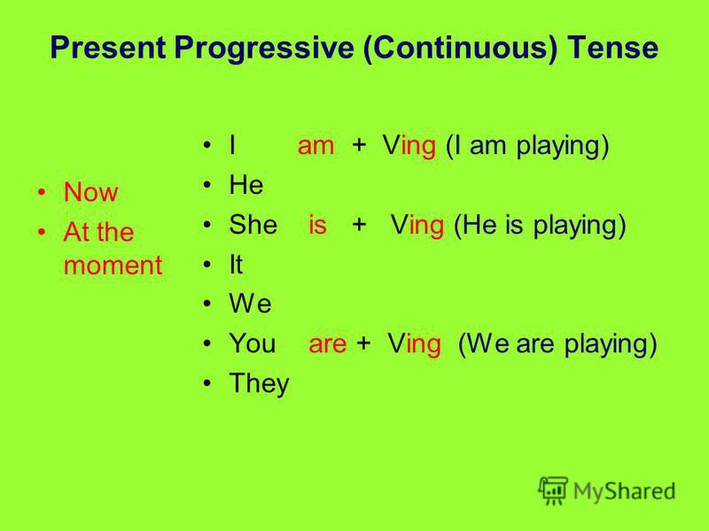 Глаголы, которые не употребляются в present continuous: разъяснение явления