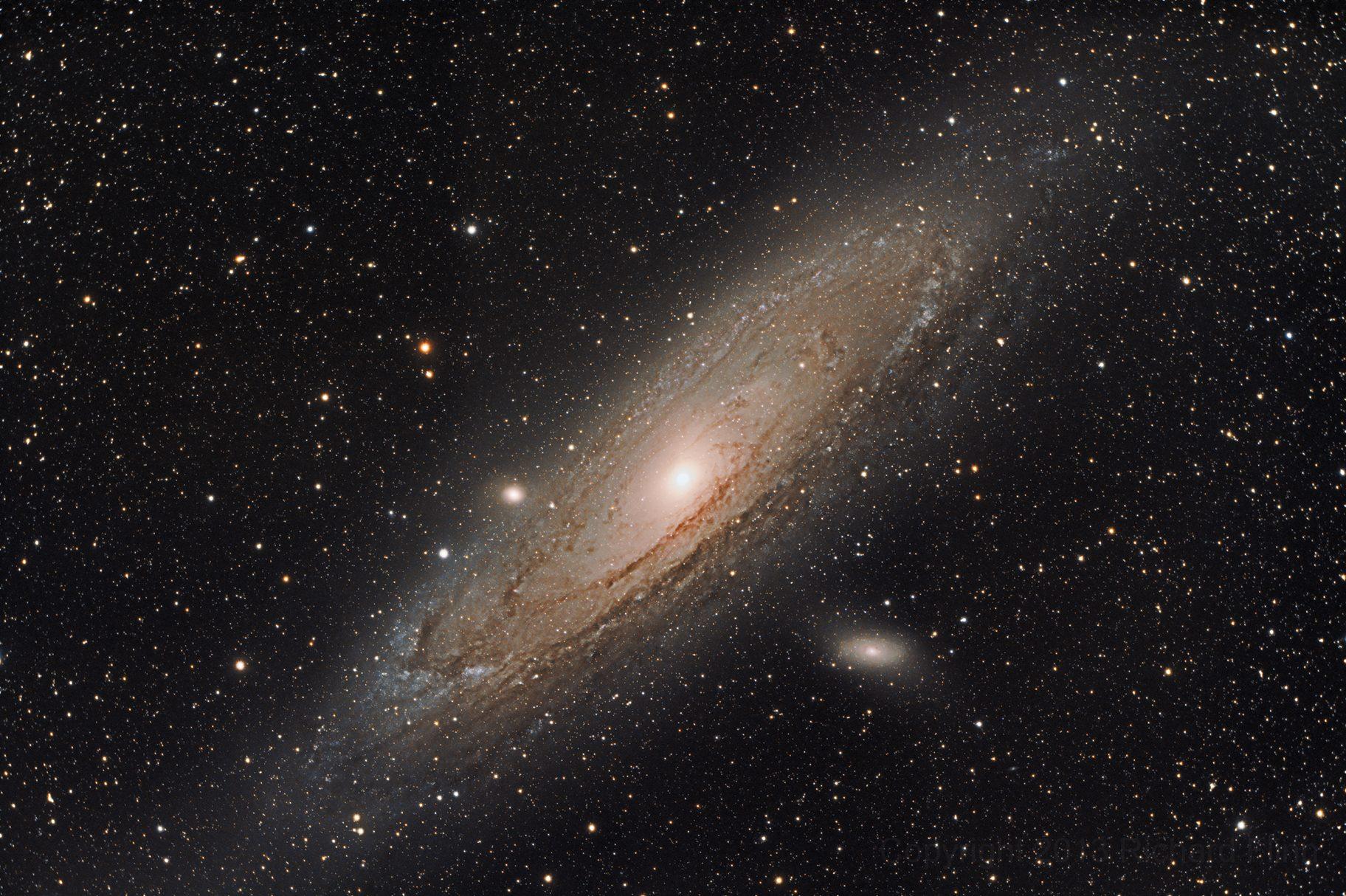 Формулы для расчёта телескопа