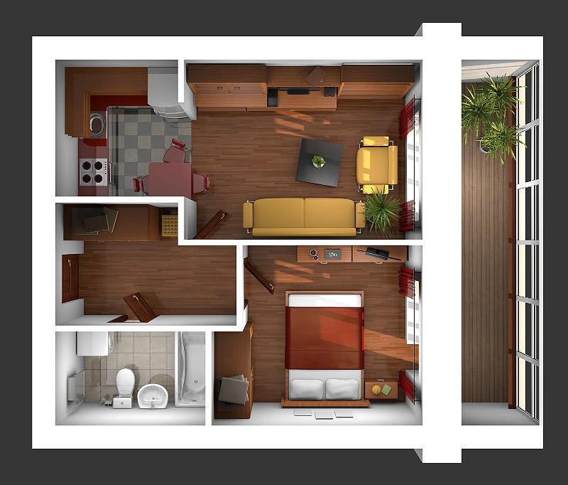 Дизайн евродвушки +50 фото идей современного интерьера