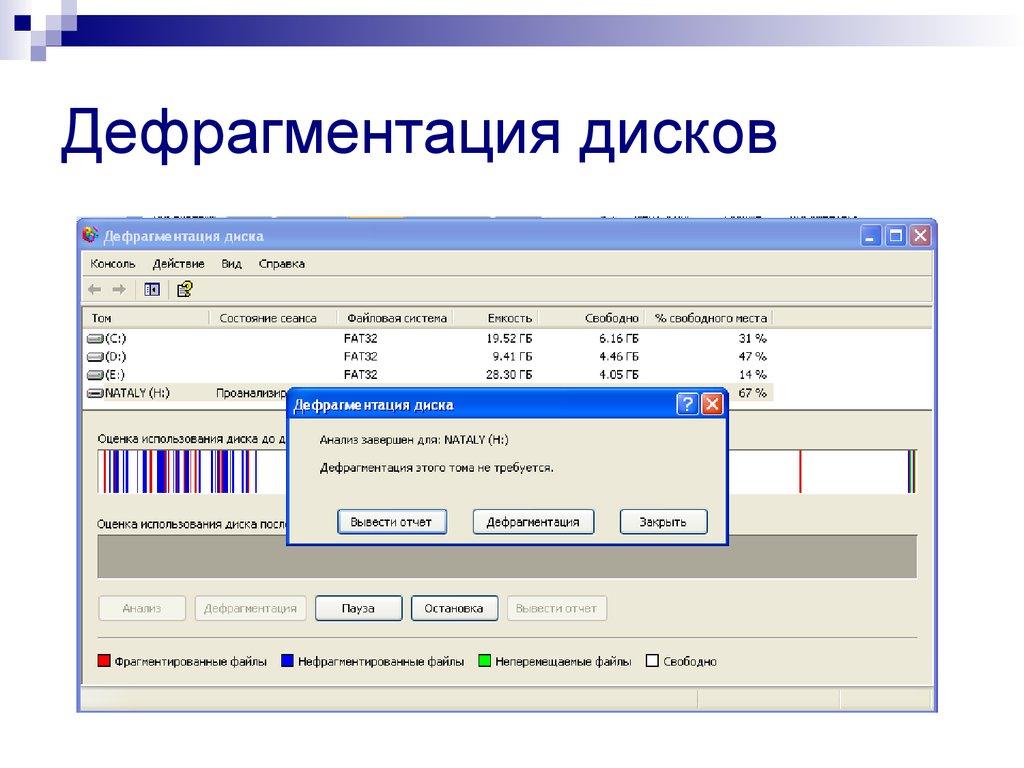 Дефрагментация диска: как сделать? лучшие программы для дефрагментации