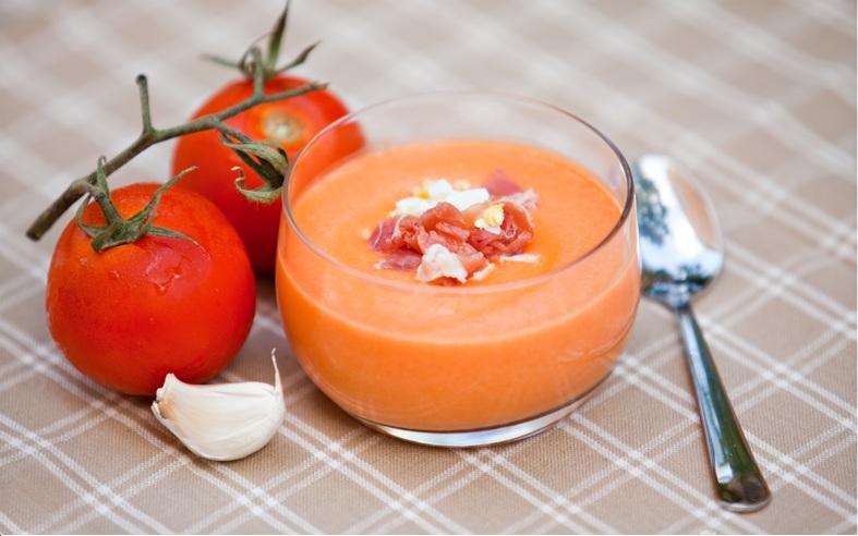 """Холодный томатный суп """"сальморехо"""" – кулинарный рецепт"""