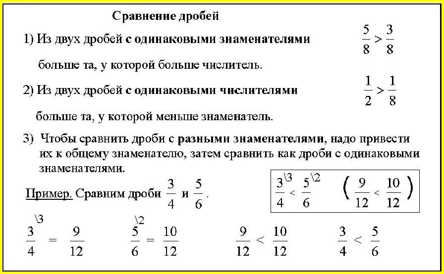 Смешанные дроби или смешанные числа. | tutomath