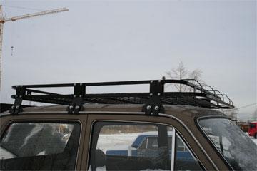 Экспедиционный багажник: виды, плюсы и минусы, навесное оборудование