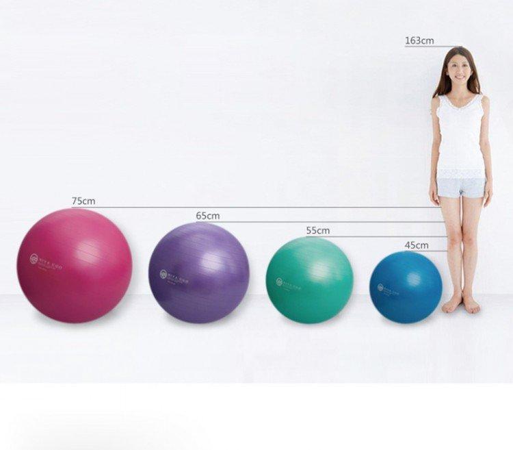 Какой мяч для фитнеса выбрать: параметры и классификация фитболов | proka4aem.ru