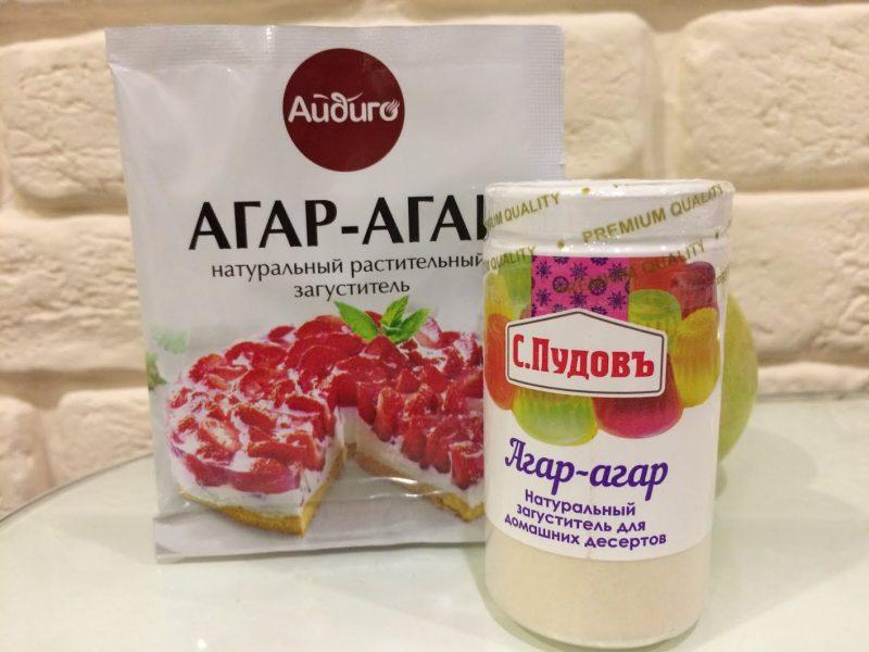 Агар-агар: разновидности, свойства, рецепты