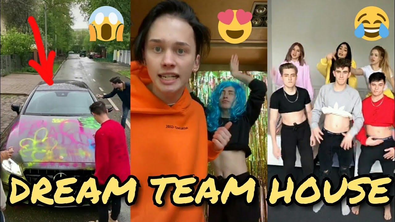 Тик ток дрим тим хаус (dream team house): состав тиктокеров