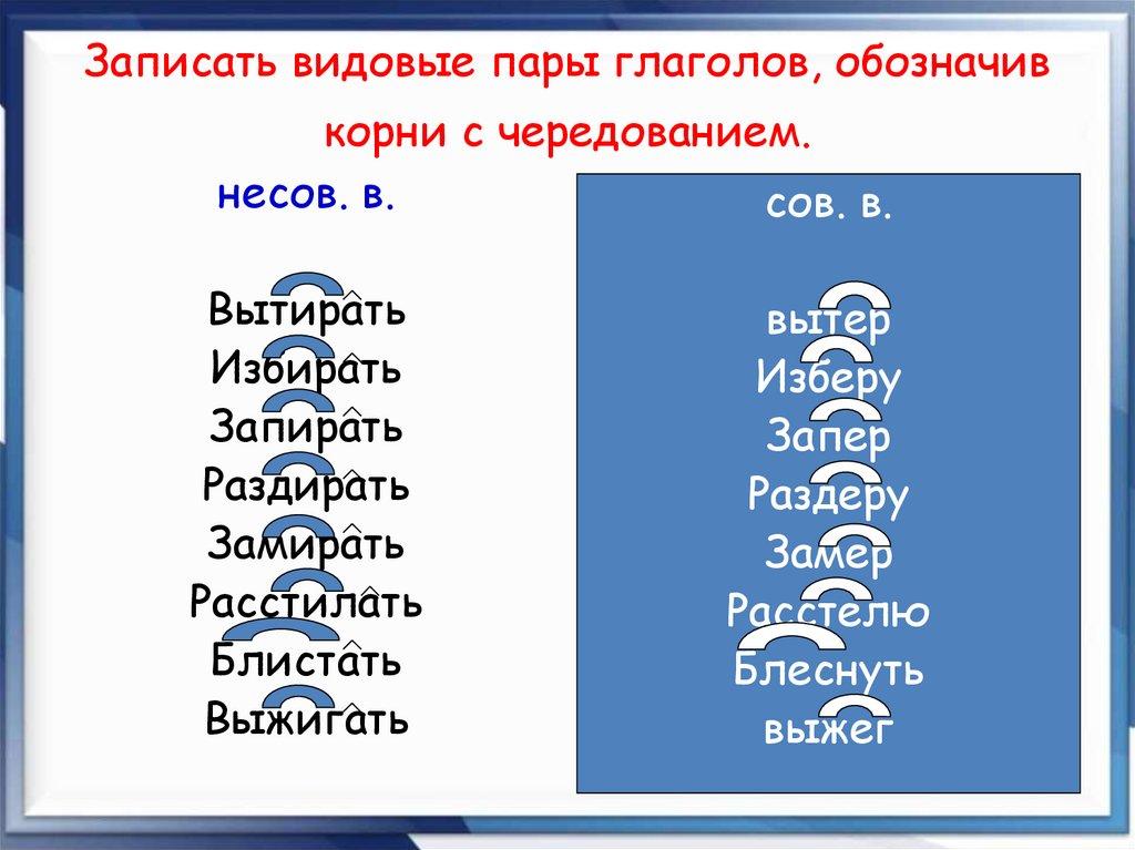 Вид глагола в русском языке: образование и правильное употребление. что такое вид глагола? какие бывают виды глаголов какие морфологические признаки объединяют все глагольные формы