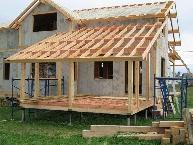 Виды террас: фото, конструкция террасы и функции, зачем нужна, с крышей или без