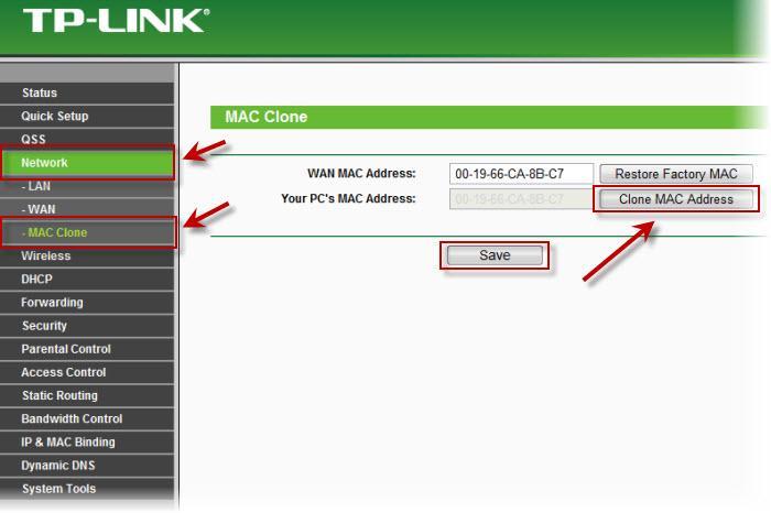 Mac-адрес: что это и где его узнать. как клонировать mac-адрес старой сетевой карты