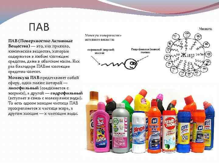 Поверхностно-активные вещества: работа и типы пав. совсем чуть-чуть науки - haircolor.org.ua