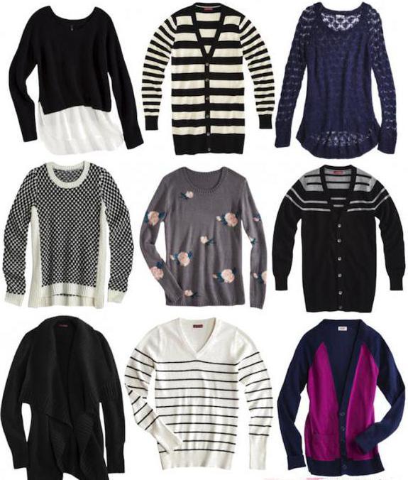 Чем отличается джемпер от пуловера и свитера