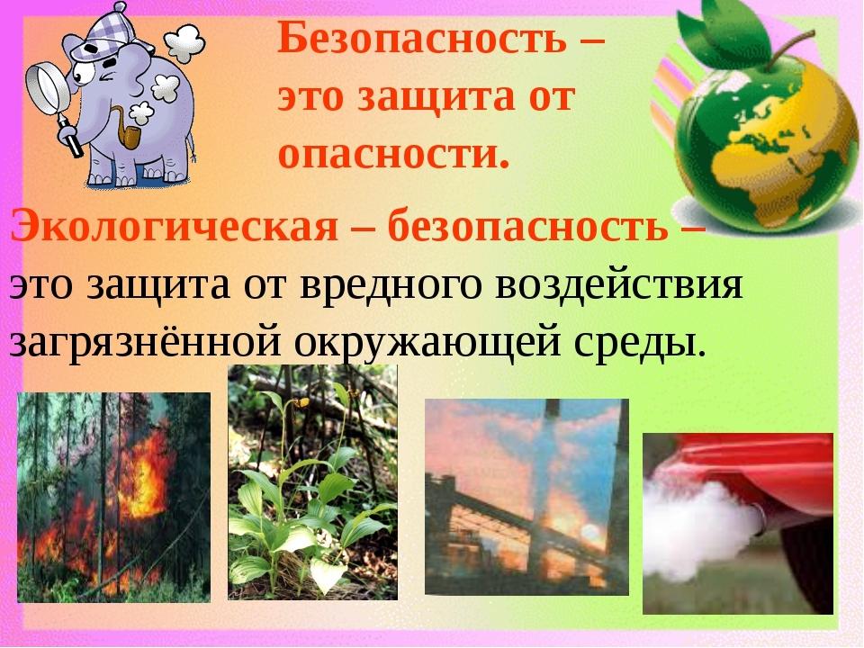 Презентация - что же такое экология?
