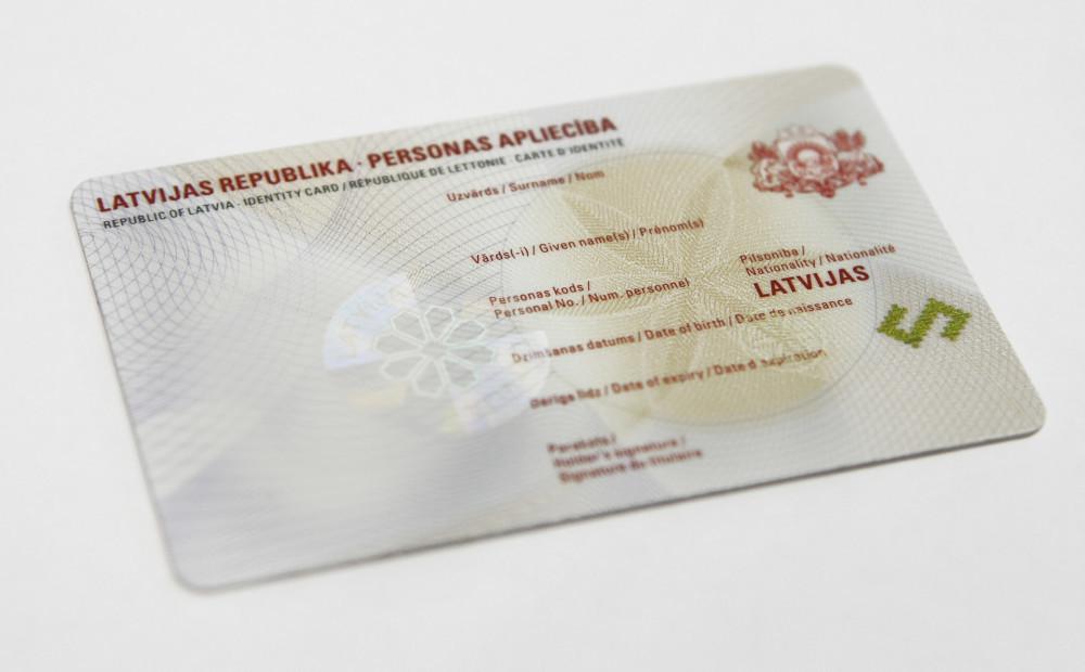 Электронная идентификационная карта — eid, id-карта латвии