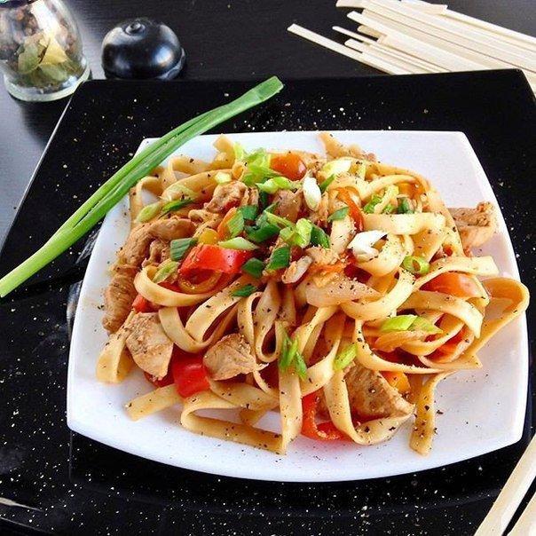 Азиатский наборный суп с лапшой удон – кулинарный рецепт