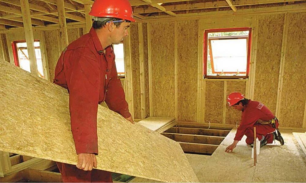 Osb (осп) плита - характеристики, применение, размеры и цены