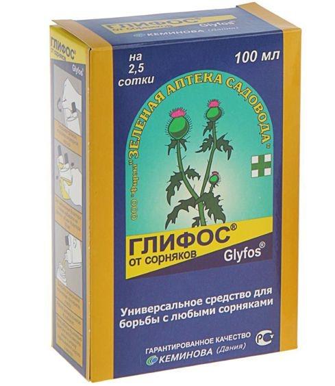 Глифос: сильный послевсходовый гербицид сплошного действия
