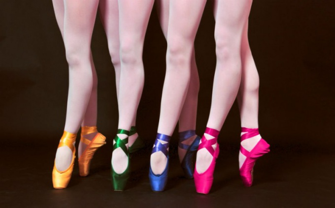 Пуанты - это неотъемлемый атрибут классического и современного балета