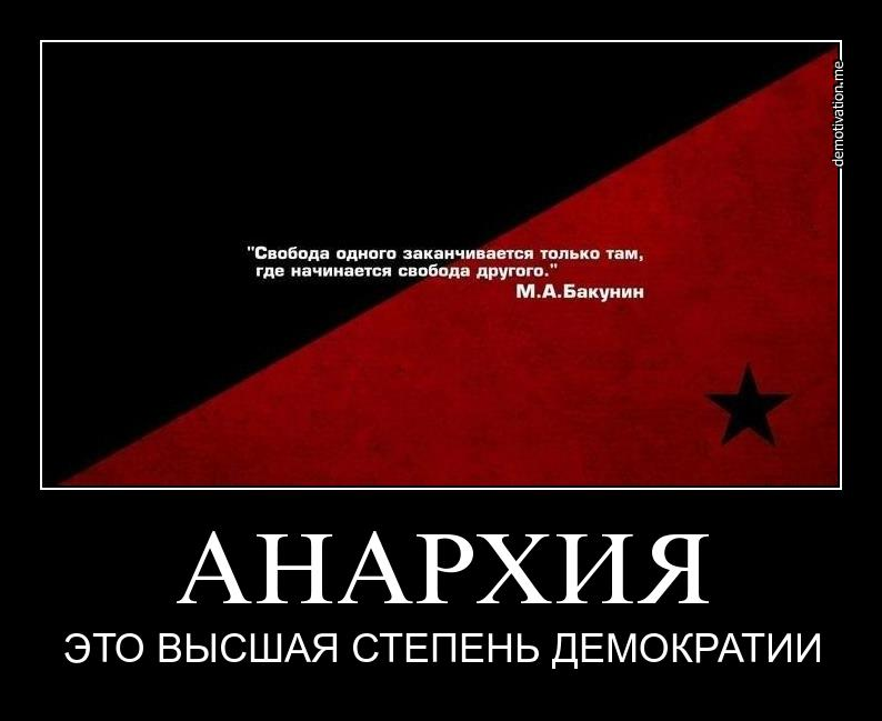 Анархисты — кто это