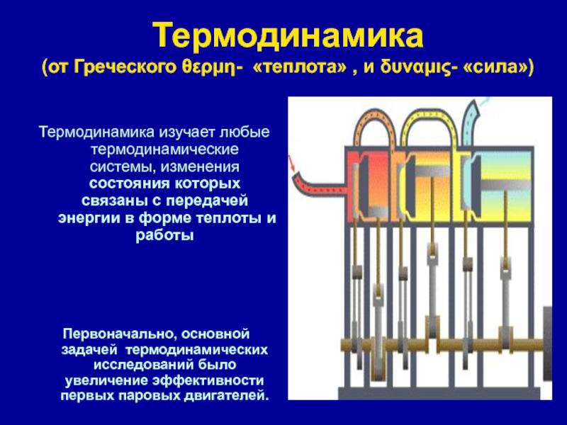 Первое начало термодинамики