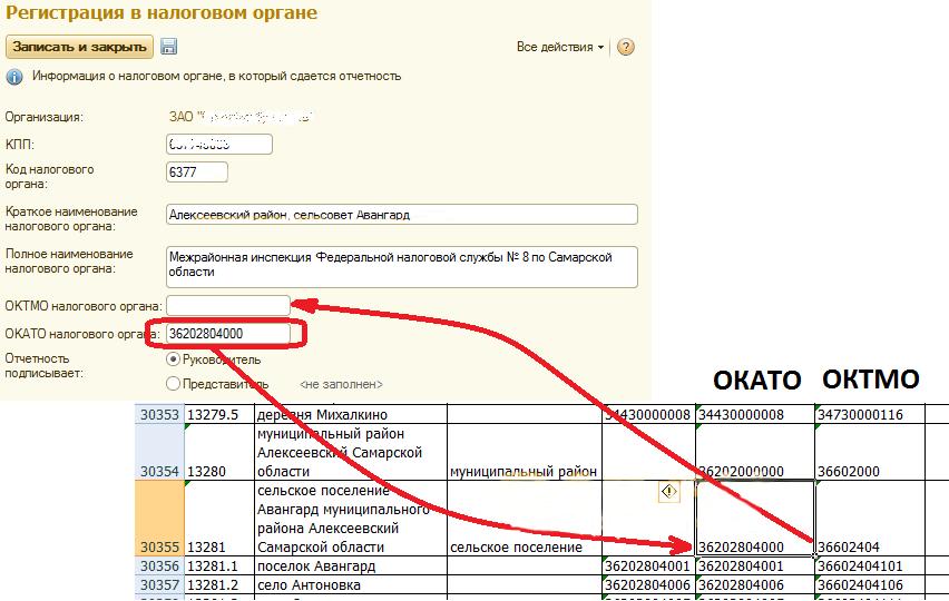 Как узнать код октмо организации по инн онлайн 2020