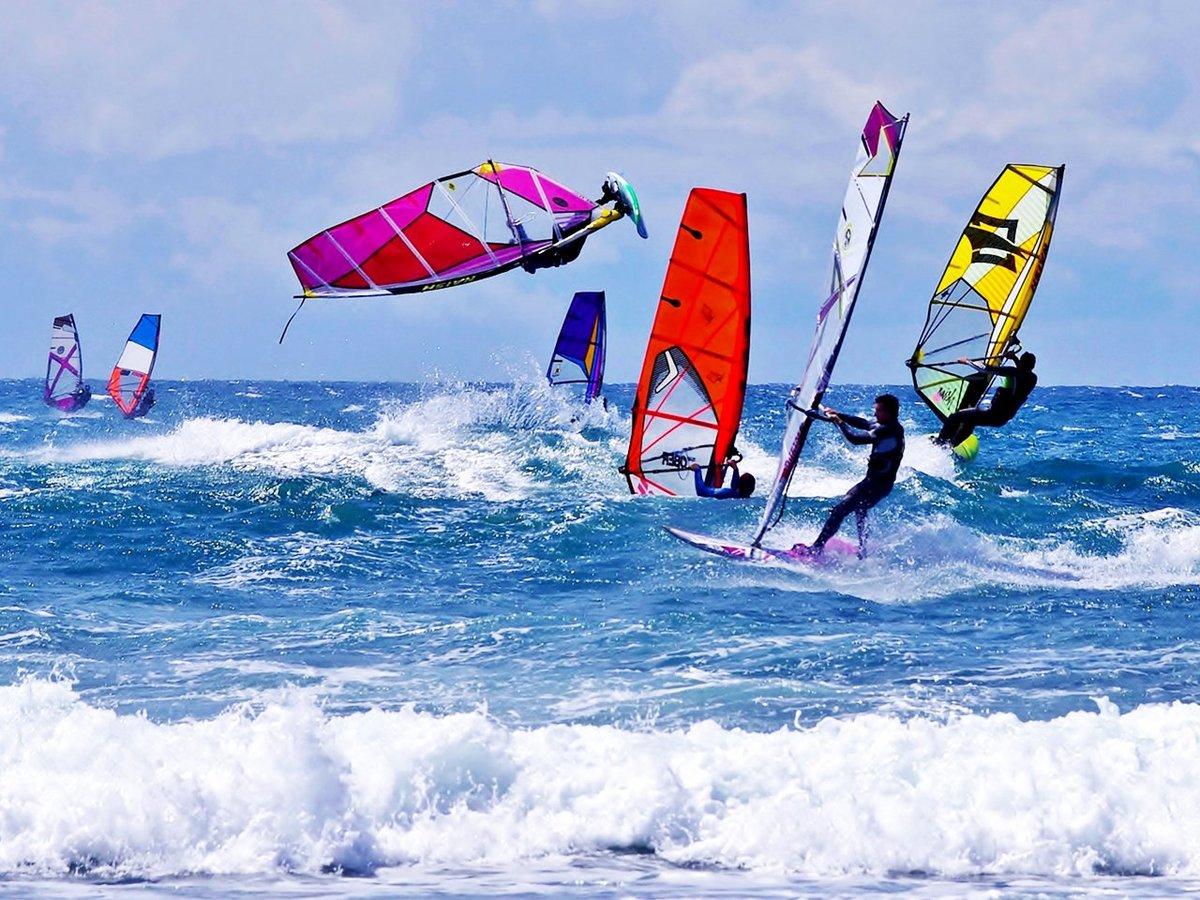 Виндсерфинг: виды соревнований