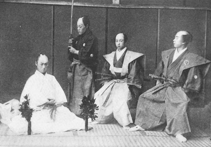 Обряд харакири (сеппуку) | miuki mikado • виртуальная япония