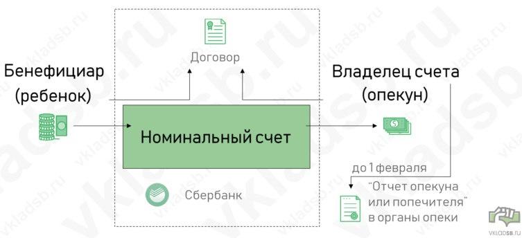 Номинальный счет опекуна в сбербанке: что это такое — finfex.ru