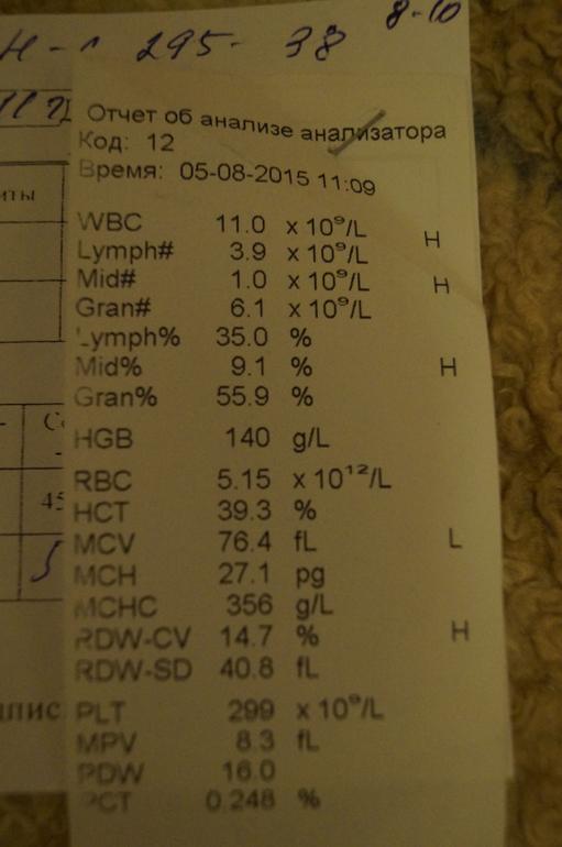 Wbc в анализе крови что это такое