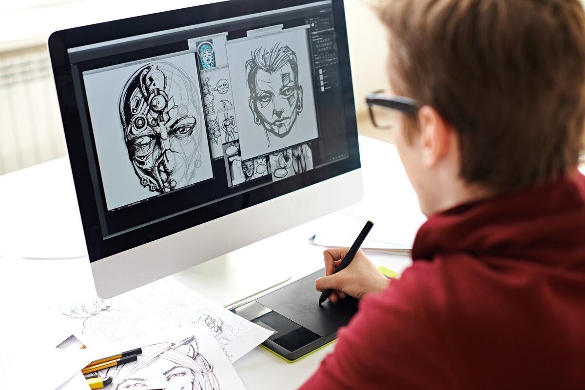 Все о профессии графический дизайнер