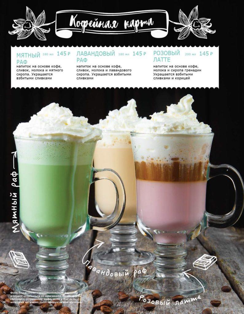 7 нестандартных рецептов кофе раф