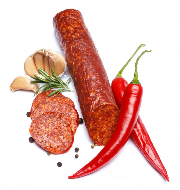Колбаса чоризо для жарки