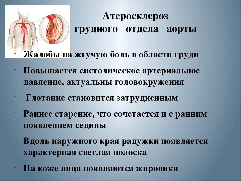 Атеросклероз аорты сердца, что это такое?