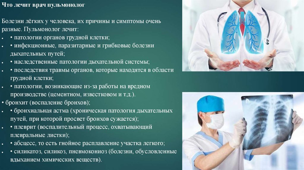 Пульмонология — большая медицинская энциклопедия