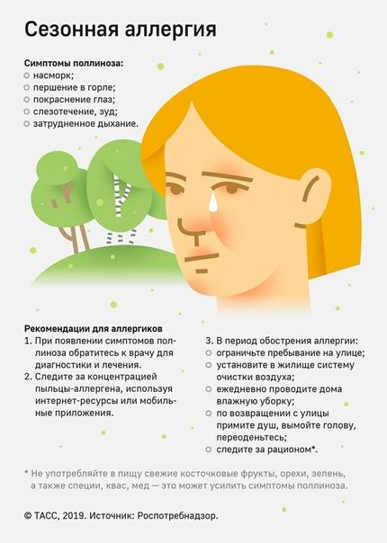 Поллиноз – как проявляется сенная лихорадка, и как ее лечить?