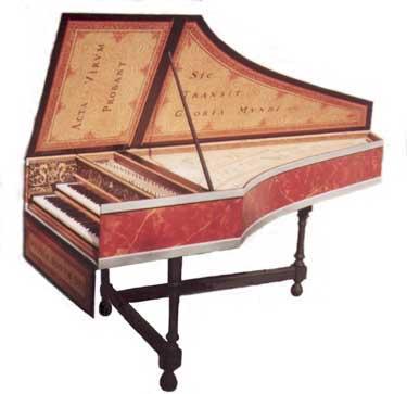 Клавесин — википедия