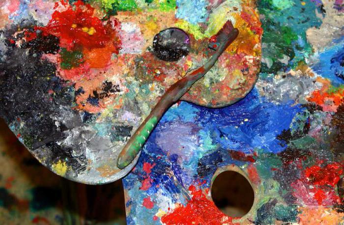 Палитра - что такое? размеры и формы художественной палитры для красок :: syl.ru