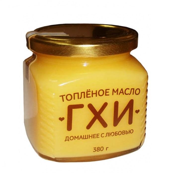 """Очищенное топлeное сливочное масло """"гхи"""""""
